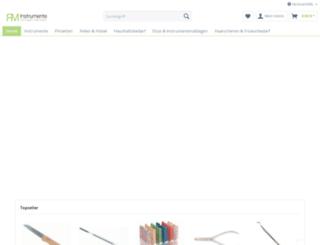 rm-instrumente.de screenshot