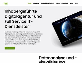 rm-solutions.de screenshot