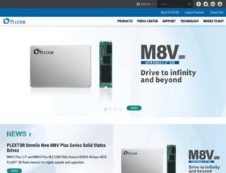 rma.goplextor.com screenshot