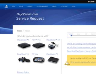rma.scea.com screenshot