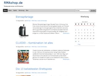 rmashop.de screenshot