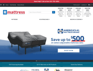 rmattress.com screenshot