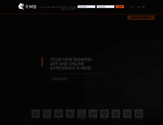 rmbprivatebank.com screenshot