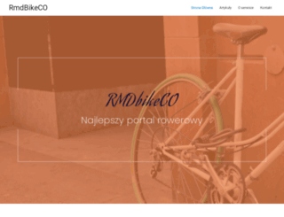 rmdbikeco.pl screenshot