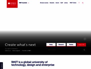 rmit.com.au screenshot