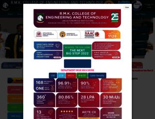 rmkcet.ac.in screenshot