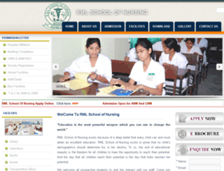 rmlnursing.com screenshot