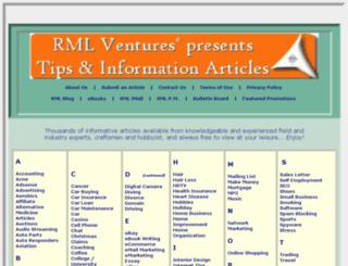 rmlventures.com screenshot