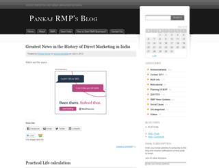 rmpbuzz.wordpress.com screenshot