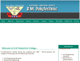 rmpolytechnic.org screenshot