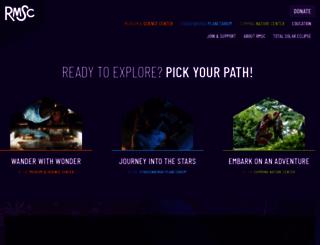 rmsc.org screenshot