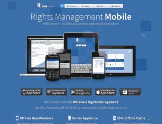 rmsviewer.com screenshot