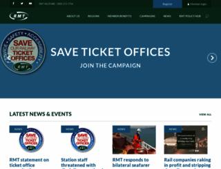 rmt.org.uk screenshot