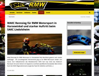 rmw-kartservice.com screenshot