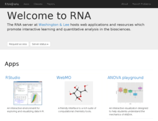 rna.wlu.edu screenshot