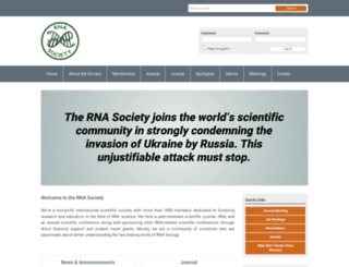 rnasociety.org screenshot