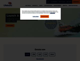 rnli.org screenshot