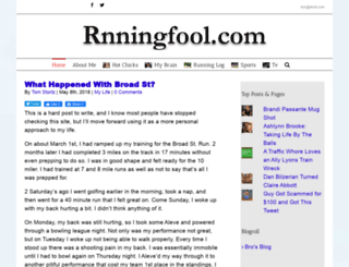 rnningfool.com screenshot