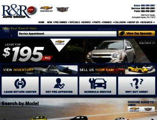 rnrautogroup.dealereprocess.com screenshot