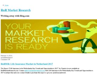 rnrmarketresearch.blog.com screenshot