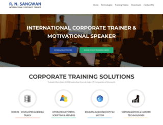 rnsangwan.com screenshot
