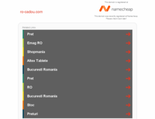 ro-cadou.com screenshot
