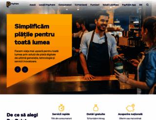 ro-ro.paypoint.com screenshot