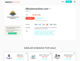 ro.minutemachine.com screenshot