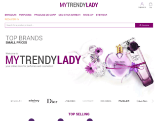 ro.mytrendylady.com screenshot