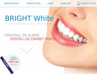 ro.white-luxury-teeth.com screenshot