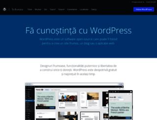 ro.wordpress.org screenshot