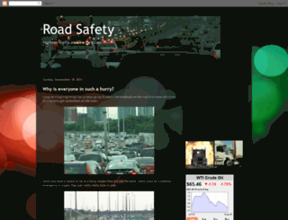 road-safety.blogspot.com screenshot