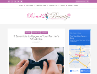 road2beauty.com screenshot