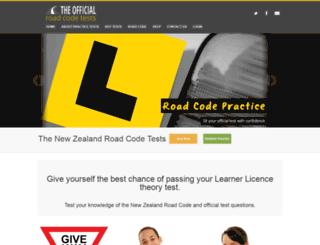 roadcodepractice.co.nz screenshot