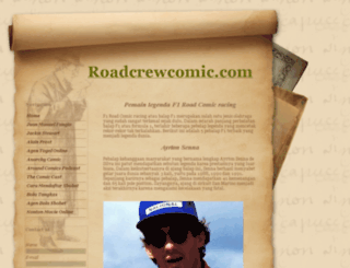 roadcrewcomic.com screenshot