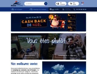roadloisirs.com screenshot