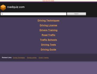 roadquiz.com screenshot