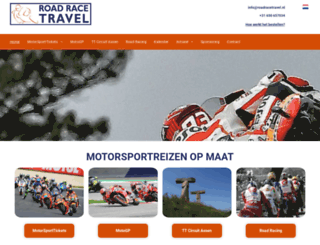 roadracetravel.nl screenshot