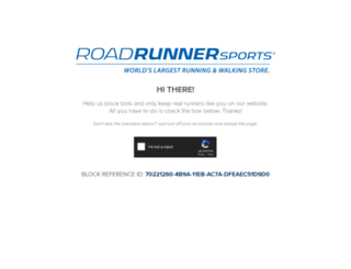 roadrunnersports.com screenshot
