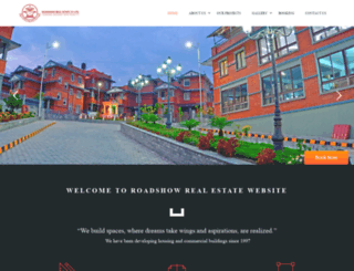 roadshownepal.com screenshot