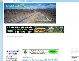 roadsidejournal.rvtravel.com screenshot