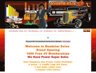 roadstersolos.info screenshot