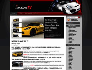 roadtesttv.com screenshot