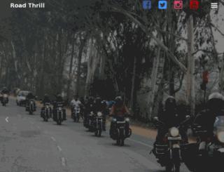 roadthrill.org screenshot