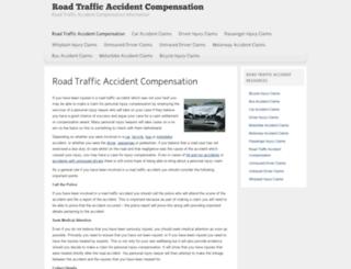 roadtrafficaccidentcompensation.org screenshot
