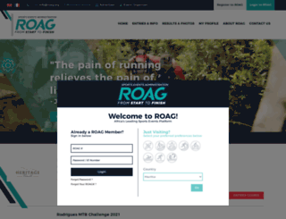 roag.co.za screenshot