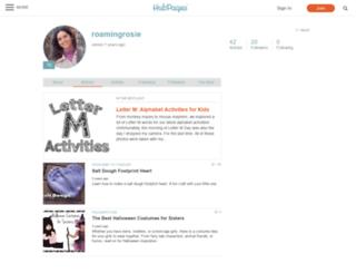roamingrosie.hubpages.com screenshot