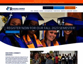 roanokechowan.edu screenshot
