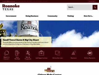 roanoketexas.com screenshot