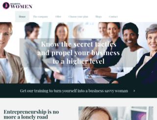 roaringwomen.com screenshot